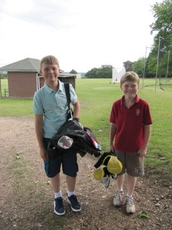 Elstree School Boys playing golf