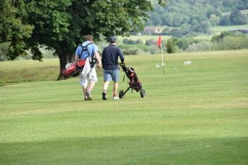 Elstree School Parents on golf course